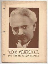 Dante Playbill Morosco Theatre 1940