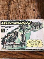 1950s Vintage Original Micromodels ARCXV11 Windsor Castle