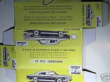 REPLIQUE  BOITE COUPE MERCEDES 220 S 1965 SOLIDO