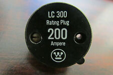 CUTLER HAMMER WESTINGHOUSE LC300 Rating Plug 200 AMP 2608D88G08