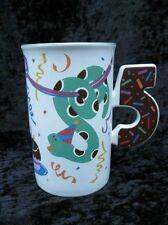 Mikasa Fifth Party Childs 5th Birthday Cup/Mug CC209 Cake Confetti Snakes