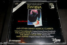 FANTASIA disney CD soundtrack SELECTIONS Jungle Book Little Mermaid Mary Poppins
