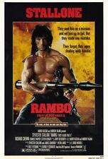 """RAMBO: FIRST BLOOD PART 2 Movie Poster [Licensed-NEW-USA] 27x40"""" Theater Size"""