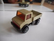 Matchbox Super Kings Mercedes Unimog in Grey/Brown