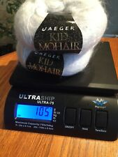 VINTAGE & NEW JAEGER MOHAIR 'KID MOHAIR' YARN APPROX 105 GMS