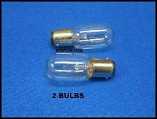 Light Bulb Kenmore Sewing Machine Push In (2 Bulbs) 15W - 110/120V