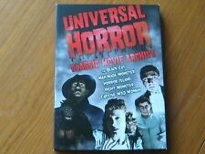 UNIVERSAL HORROR CLASSIC MOVIE ARCHIVE DVD 5 FILMS IN 2 DISCS REGION 1+SLIPCASE