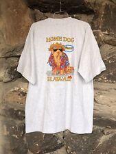 "Vintage NOS Hawaii No Ka Oi Home Dog ""Howzit"" T Shirt vtg tee aloha"