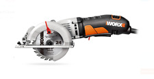 Compact Circular Saw Electric Power Hand Tools Blades Cutting Lumber Wood Craft