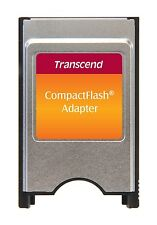 Transcend Pcmcia Ata Adapter for Cf Card - Brand New