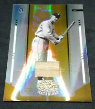 2004 Leaf Certified Mirror Gold Bat Relic Ty Cobb MIRROR GOLD GAME-USED BAT /25
