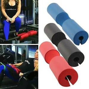 3 Color Foam Padded Barbell Cover Pad Weight Lifting Shoulder Back Support Pad