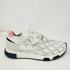 Adidas NMD Racer PrimeKnit Gore-Tex White Red Black BD7725 Men Size 10