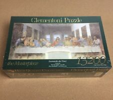 Clementoni 13200 Last Supper Leonardo da Vinci Jigsaw Puzzle rare new sealed