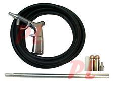 Air Sand Blaster Kit w/ Nozzles Blasting Gun Tubes Sand Pick Up Blaster