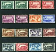 MONSTERRAT-1938-48  A mounted mint set to £1 including some additional shades Sg
