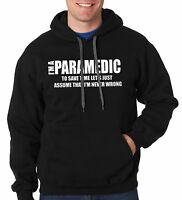 I Am A Paramedic Hoodie Hooded Sweatshirt Sweater Gift For Paramedic
