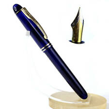 Kanwrite desire 3-in-1 pearl blue fountain pen with full flex dualtone F nib