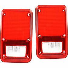 Taillight Tail Light Lens Taillamp Brakelight Set of 2 for Ram Van LH & RH P