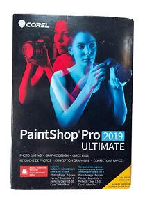 Corel Paintshop Pro 2019 Ultimate - New Retail Box