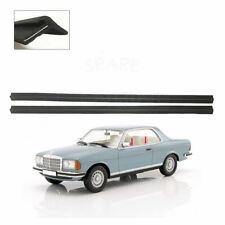 4 Piezas Mercedes W114 W115 1968-1977 Puerta Ventana Canal ejecutar conjunto de sello de goma,