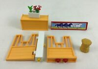 Playmobil 4190 Riding Stables Horse Farm Replacement Stable Doors Pieces Parts