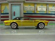Hot Wheels Kustom 1968 Cougar with Button Super Custom Real Riders Treasure Hunt