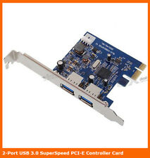 TechnoTech 2 Ports USB 3.0 PCI Express Card