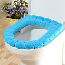 Bathroom WC Warmer Toilet Washable Soft Pad Seat Closestool Cover Lid Cushion