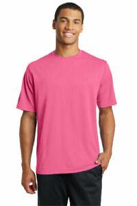 Mens Sport-Tek Micro Mesh T-Shirt Dri Fit Performance Moisture Wicking Tee ST340