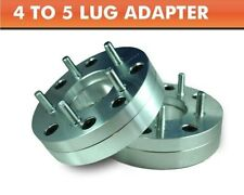 2 Wheel Adapters 4x100 to 5x4.5 ¦ Mustang 5 Lug Wheels On Mini Cooper