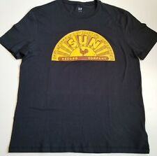 265d61742fb Gap Men s Graphic T Shirt Black Size Large Sun Record Company Rooster Logo