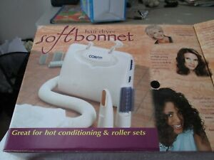NEW IN BOX CONAIR SOFT BONNET HAIR DRYER   TAKE ANYWHERE HAIR DRYER. GIFT