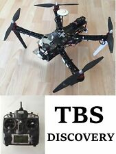 TBS Discovery RC Quadcopter DJI Naza V2 FPV Turnigy 9X Transmitter FrSKY Drone