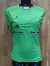 (srt054) brand new • Adidas womens football referee shirt • BNIP• size S