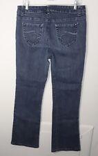 Women's Jeans Size 12 X 30 Dark Indigo Stone Wash by Nine West