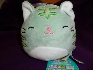 "Squishmallow 4"" Flip A Mallow Chase Cat & Lindsay Cheetah RARE NWT"