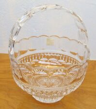 made in Poland crystal decorative basket