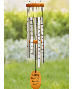 """Amazing Grace 33"""" Memorial Wind Chime"""