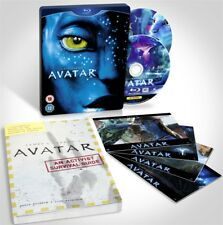 Avatar Limited Edition Blu-ray Steel Book with Survival Guide and Cards