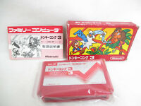 DONKEY KONG 3 Ref/C Famicom Nintendo Import fc