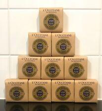10  bars of  L'Occitane Verbena Soap with Shea Butter 50g
