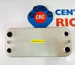 SCAMBIATORE SECONDARIO RICAMBIO CALDAIE ORIGINALE IMMERGAS CODICE: CRC3.015360