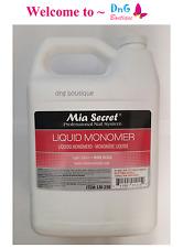 1 GALLON Liquid Monomer Mia Secret  Professional Acrylic Nail System MADE IN USA