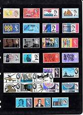 GB 1963-65 PHOSPHOR Commemoratives STAMPS Collection Inc LIFEBOAT CABLE Re:QB446