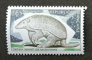 France Giant Armadillo 1974 Tatou Fauna  (stamp) MNH