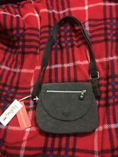 BNWT Kipling Laryn Bag In Minked Grey