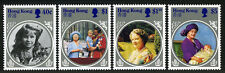 Hong Kong 447-450, MNH. Queen Mother Elizabeth, 85th birthday, 1985