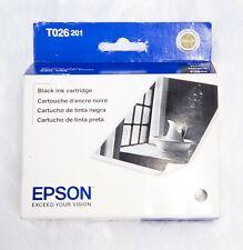 NEW Epson Stylus photo 820/925 Black Ink Cartridge T026 201 Exp: 02/2011