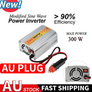150W 300W Power Inverter 12V 220V Sine Wave USB Camp Car Converter Adapter NEW